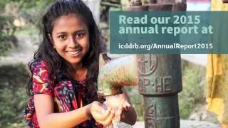 icddr,b Annual Report 2015