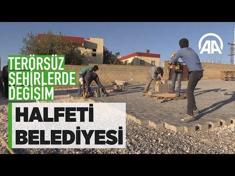 Borçlu Halfeti Belediyesi görevlendirmeyle rahatladı