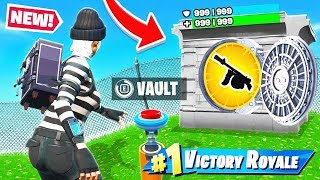 VAULTING The DRUM GUN *NEW* Game Mode in Fortnite Battle Royale
