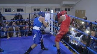 CRAZY BOXING FIGHT!!! ADAM SALEH vs. NAZ (FULL FIGHT)