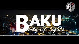 Baku city of lights. Azerbaijan. Hyperlapse & Timelapse