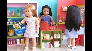 American Girl Doll Supermarket Grocery Store