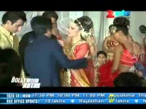 Shahrukh Khan, Katrina Kaif & Anushka Sharma on Zee TV Sa Re Ga Ma Pa Set