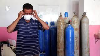 شاهد المهنة التي اندثرت وبقي شخص واحد فقط يعمل بها في محافظة درعا.
