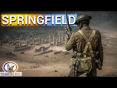 watch Battlefield 1 El Springfield 1903 Made in USA Guía y consejos.
