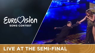 Ira Losco - Walk On Water (Malta) Live at Semi - Final 1 of the 2016 Eurovision Song Contest