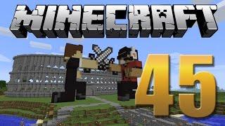 Arena PVP / Coliseu - Minecraft Em busca da casa automática #45.