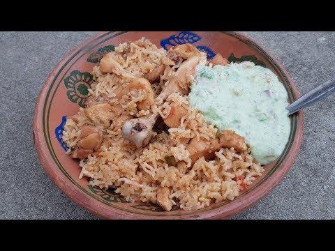 Xxx Mp4 Chicken Pulao With Raita Recipe Village Style Pulao With Raita Village Food Secrets 3gp Sex