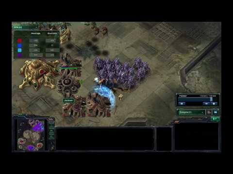[HD]Starcraft 2 Beta Gameplay/Commentary 2v2 PZvPZ Tarsonis Assault PT 2/2