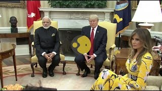 The Trump Card: Trump, First Lady welcome Modi at the White House