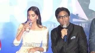 Sonam's Eayes Got Moist At Neerja's Trailer Launch