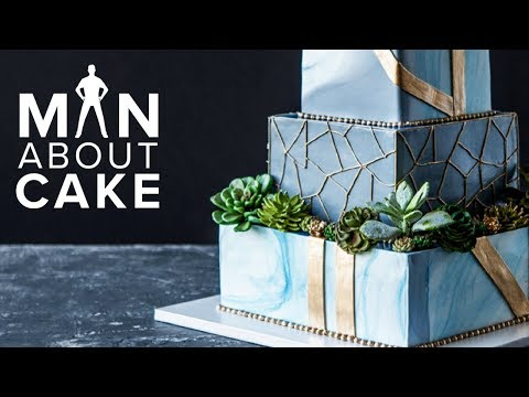 Succulent Wedding Cake FOR JAMES Man About Cake with Joshua John Russell