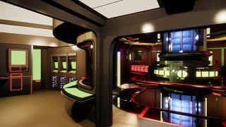 CryEngine 3 - USS Enterprise Main Engineering [STUNNING 4k!]