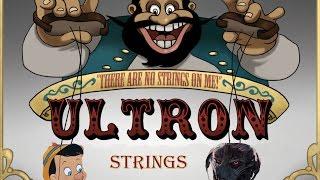 Ultron Vs Pinocchio - There are No Strings Avengers remix DJ Electro Swingable