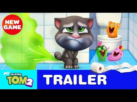Xxx Mp4 Bathroom Buddy My Talking Tom 2 Official Trailer 3 3gp Sex