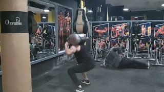 هشام ملولي تمارين القتال والقوة البدنية والقدرة على التحمل