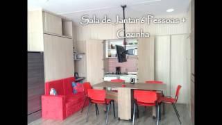 6 Ambientes em 15 m²  - Moveis Fit