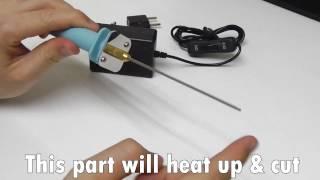 Foam cutter (10 cm Electric cutting pen)