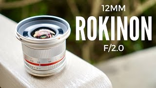 Fastest Wide Angle Lens for Sony E-Mount
