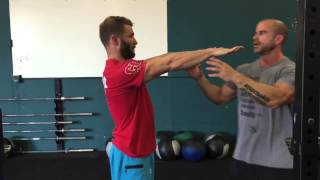 Broken Shoulder Fix with Pat Barber at Crossfit Iron Mile | Trevor Bachmeyer | SmashweRx