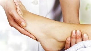Lose weight with a foot massage