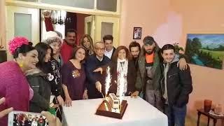 المنتج مروان حداد يحتفل مع اسرة مسلسل دورة جونية جبيل