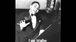 Fats Waller - Blue Turning Gray Over You