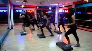 step avanzado aerobicos ivan veintimilla