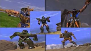 Beast Wars Maximals VS Predacons For The First Time