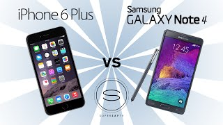 iPhone 6 Plus vs Samsung Galaxy Note 4 - SuperSaf TV