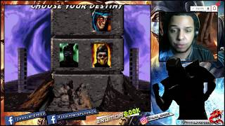 O SOMBRA - NOOBSAIBOT VS CPU  VERY HARD GAMEPLAY +  BUGS ULTIMATE MORTAL KOMBAT 3
