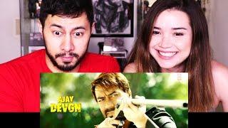 BAADSHAHO | Ajay Devgn | Vidyut Jammwal | Teaser Trailer Reaction!