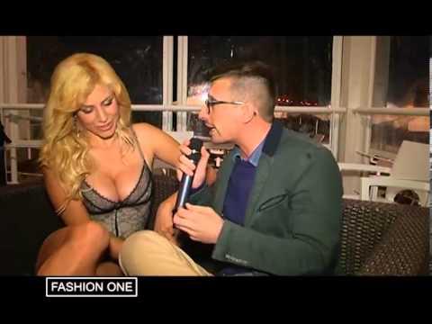 FASHION ONE Marco Rollo Intervista Paola Caruso la BONAS di Avanti Un Altro 1