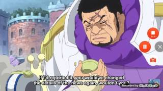 Akainu Talking To Gorosei And Fujitora ? One Piece Episode 736 ( English Subbed)