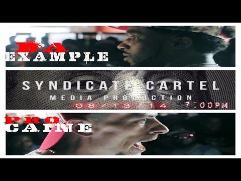 DA EXAMPLE VS PRO CAINE//BLACK ICE CARTEL//THE EULOGY