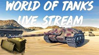 World of Tanks LIVE! 🔥 Föl föl vitézek a csatára (1K arany nyereményjáték 💰)