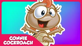 CONNIE COCKROACH - Lottie Dottie ENGLISH KIDS SONG with lyrics