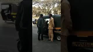 Dekho Is Riksha Wale Ki Dada Giri Jo Bandra Kurla Complex Ke Pas Ek  Passenger Se Paisa Le Raha Hain