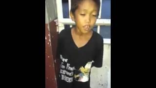 pangarap ko ang ibigin ka (isang musmos ang kumanta pero magaling)