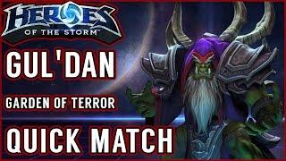 Random Queue - Gul'dan Gameplay [Heroes of the Storm || EU Master]