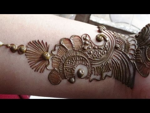 Best Arabic Mehendi 2013:how To Apply Henna Mehndi Tattoo ...