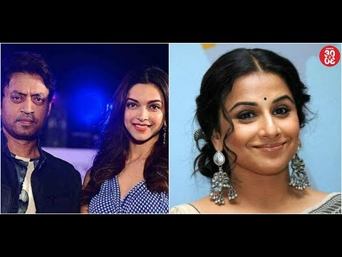Deepika-Irrfan Will Be Sharing Screen Space Once Again | Vidya To Play Indira Gandhi On Celluloid
