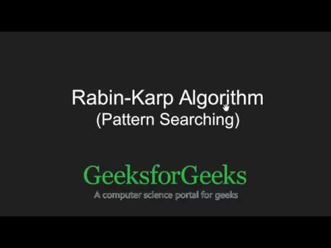 Xxx Mp4 Rabin Karp Algorithm Searching For Patterns GeeksforGeeks 3gp Sex