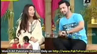 Mahira wording in shahista show utho jago pakistan... by O-Man News.flv
