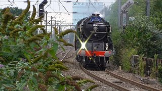 Train spotting and Camcorder setting tests at Hanwell. 05/9/2016.