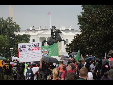 Xxx Mp4 Counterprotests Overshadow White Supremacist Rally In Washington D C 3gp Sex