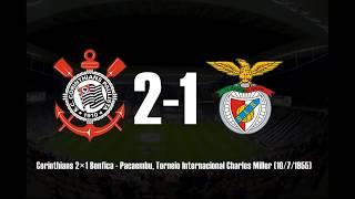 CORINTHIANS X Times Europeus - Gols e Principais resultados.