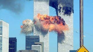 11/09/2001 em 18 minutos avião cai do World Trade Center Towers Setembro 11, Terror Fato Vídeo