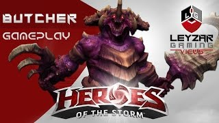 Heroes of the Storm Gameplay - Butcher Meta Build (HotS Butcher Gameplay Quick Match)