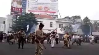 Parade Juang 2016 (suasana pertempuran) part 3